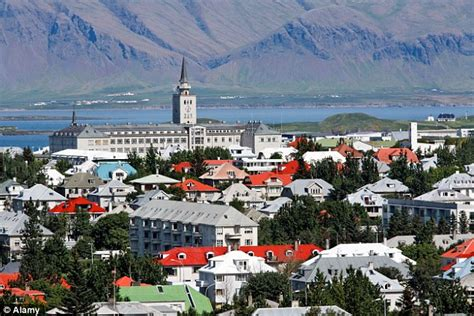 Reykjavik For The Country by Iceland Found To Be The Safest Country In The World