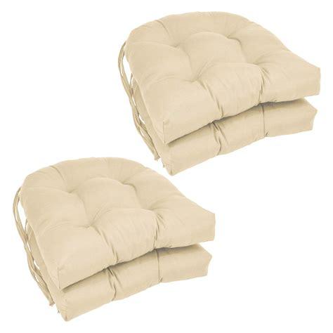 blazing needles  shape     twill dining chair cushions set   jetcom