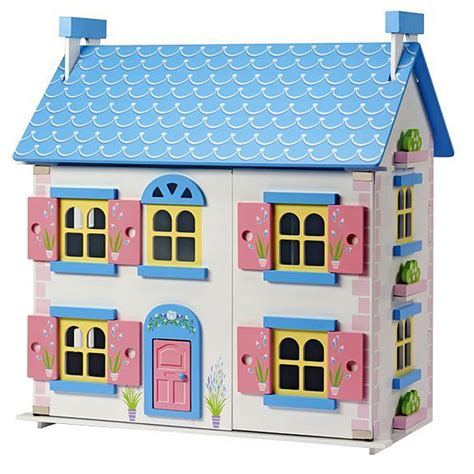 cottage dolls house wooden cottage doll s house childrens playhome wooden