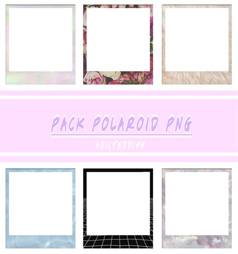 pack imagenes png tumblr pack polaroid png by adictedd199 by adictedd199 on deviantart