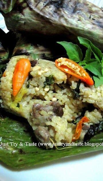 resep membuat nasi bakar hati ela resep nasi pepes bakar just try taste