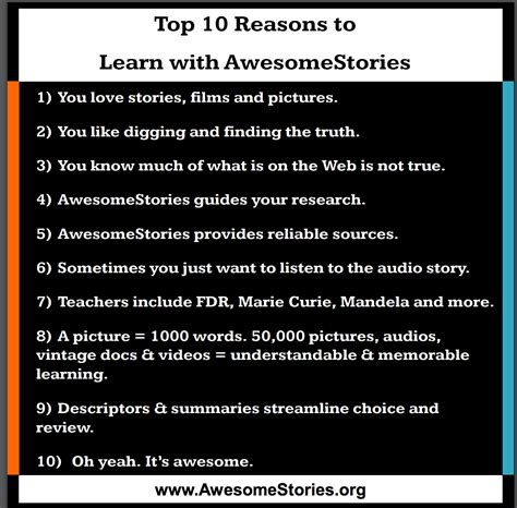 7 Reasons To Learn To Cook by Top 10 Reasons To Learn With Awesomestories