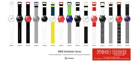 Jam Tangan Q Q Smile Solar Unisex jam tangan qnq smilesolar series