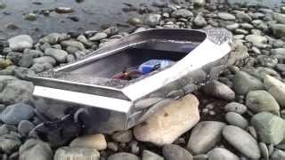 rc jet boat rooster tail twin kmb 40mm jet units ep 700hp ton static test видео