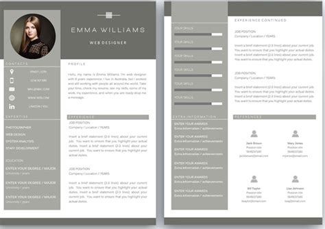 Best Resume Template 2016 by 50 Awesome Resume Templates 2016