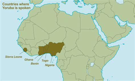 yoruba africa map atlas yor 249 b 225 introduction