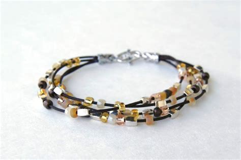how to make jewelry with leather cord bracelet patterns easy diy bracelets out of leather