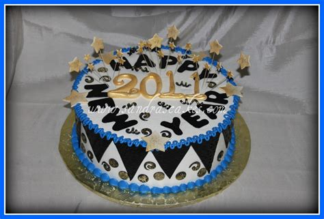 new year cake decoration new year s cakes