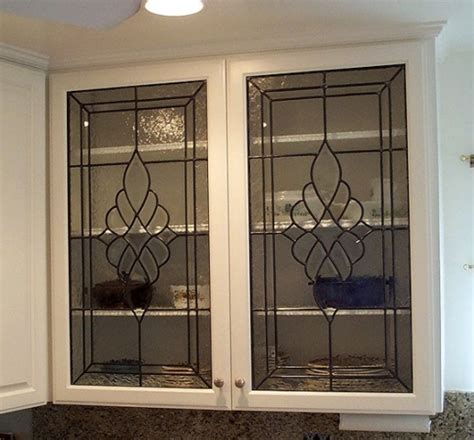 glass cabinet kitchen doors bear glass nj cabinet glass is an individualistic