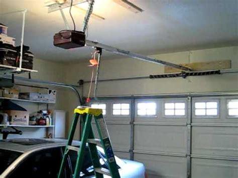 Garage Door Opener Loud Noisy Genie Drive Garage Door Opener