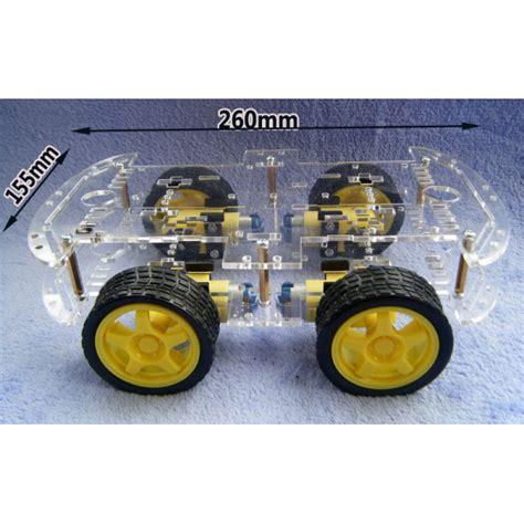 Smart Car Chasis 4wheel Arduino Smart Robot Car Chassis Kit Tracingcar 1 4 wheel robot smart car chassis kits car for arduino car