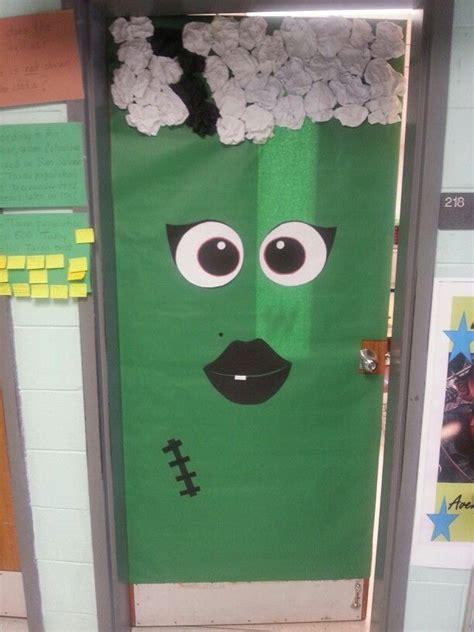 Frankenstein Door by Of Frankenstein Door For The Classroom