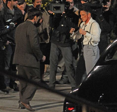 gangster movie nashville sean penn and josh brolin on the gangster squad film set