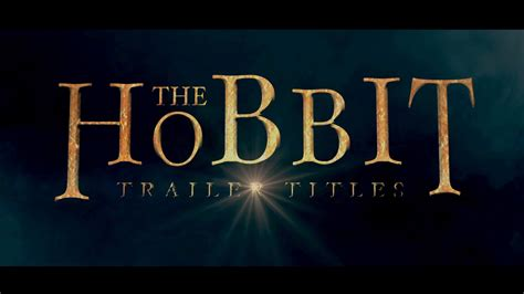film bagus coming soon the hobbit movie trailer titles after effects tutorial