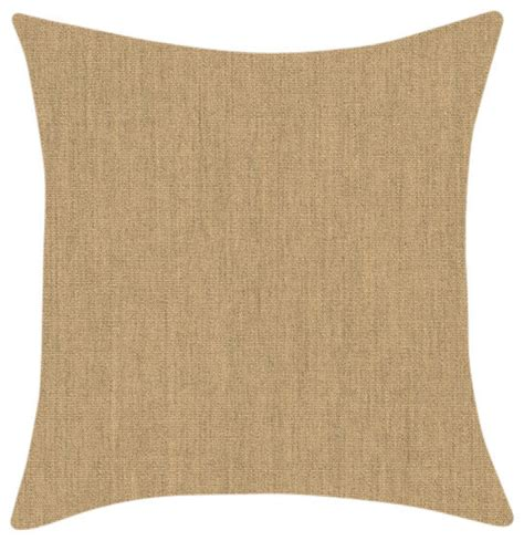 Sunbrella Outdoor Pillows And Cushions by Sunbrella Beige Throw Pillow Style