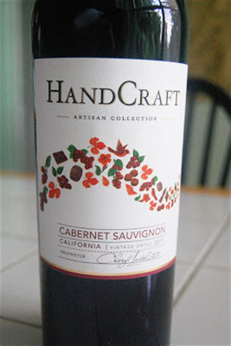 Handcraft Wines - benito s wine reviews 2011 handcraft cabernet sauvignon