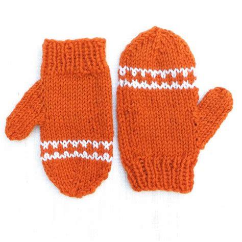 knit baby mittens easy orange striped toddler mittens toddler mittens knit