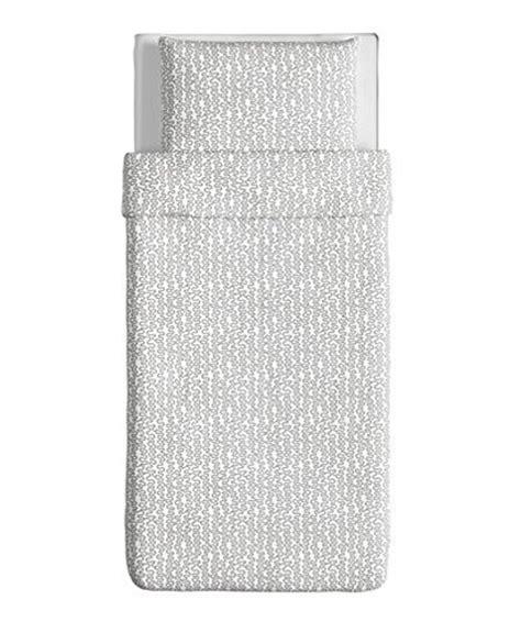 ikea sheets review ikea 302 504 36 krakris duvet cover and pillowcase twin gray white reviews bedding sets