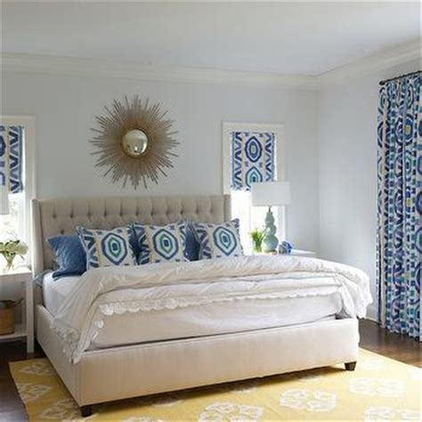 light blue and yellow bedroom blue yellow gray bedroom contemporary bedroom style