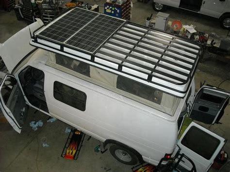 astro custom roof rack with solar panels astro