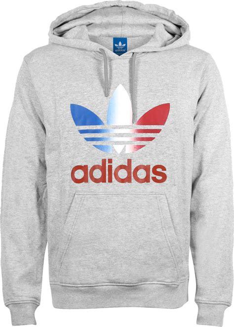 Trefoil Hoodie adidas trefoil hoodie grijs flecked