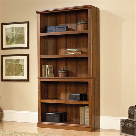 Sauder Bookcase Cherry Sauder Select Washington Cherry 5 Shelf Bookcase 414356