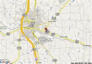 map of rodeway inn tifton tifton