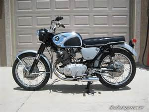 Honda 305 Superhawk Bikepics 1966 Honda Superhawk 305