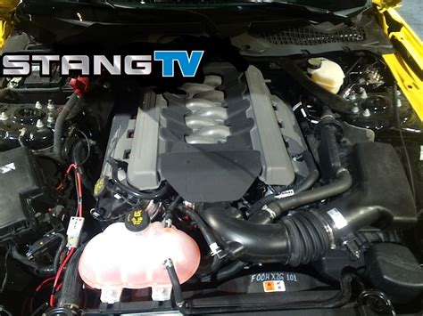 hellcat engine turbo 2015 mustang gt gets 711 hp twin turbo kit from late model