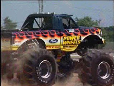 power wheels bigfoot monster truck power wheels