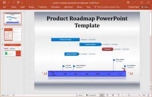 Product Roadmap Template Powerpoint by Best Roadmap Templates For Powerpoint