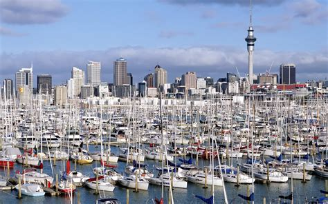 auckland new zealand westhaven marina auckland island new zealand