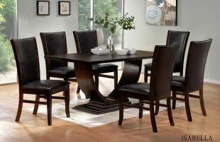 Contemporary Dining Room Sets Isabella Modern Dining Room Set