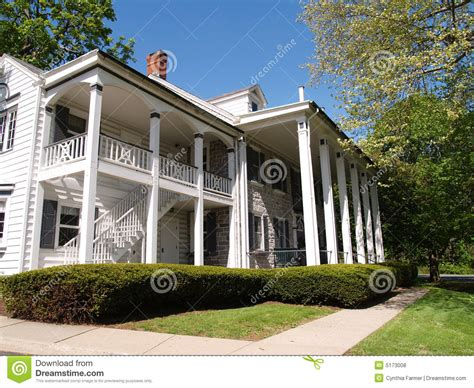 Large Home With Front Porch With Columns Royalty Free House Plans With Large Columns