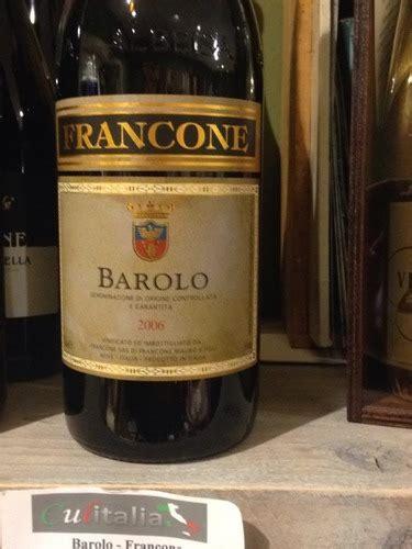 Francone Also Search For Francone Barolo 2006 Wine Info