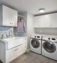 Imagine the laundry room equivalent of a bistro kitchen and it would