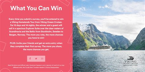 Conde Nast Sweepstakes - featured sweepstakes win a 15 day cruise to 8 countries insideflyer