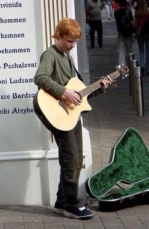 ed sheeran young spin 1038 on twitter quot a young ed sheeran busking in