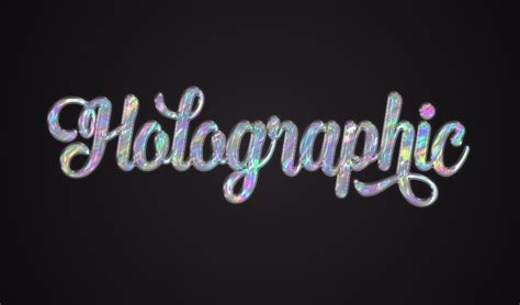 tutorial design font photoshop how to create a quick holographic text effect in adobe