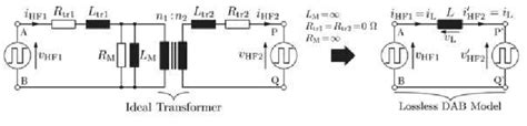inductor high frequency equivalent circuit 8 equivalent circuit diagram of high frequency transformer 1