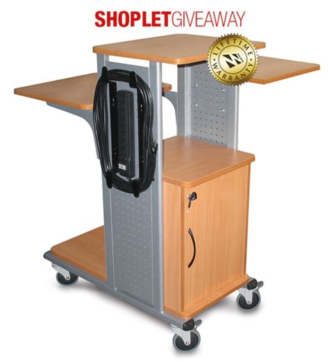 win an audio visual cart and stand combo shoplet blog - Presentation Giveaways