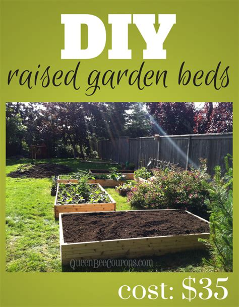 diy raised garden beds cheap raised beds how to build raised garden beds for 35