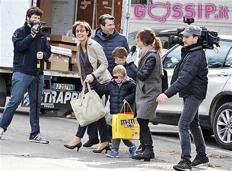 enrico letta fregonara fregonara moglie dell ex premier con i figli