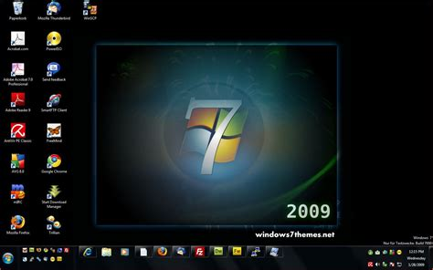 computer themes for windows 7 post a screenshot of your windows 7 desktop