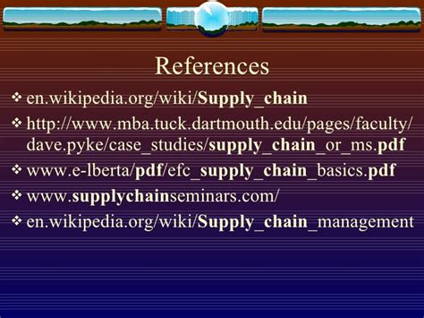 Supply Chain Management Pdf Mba by Supply Chain Management