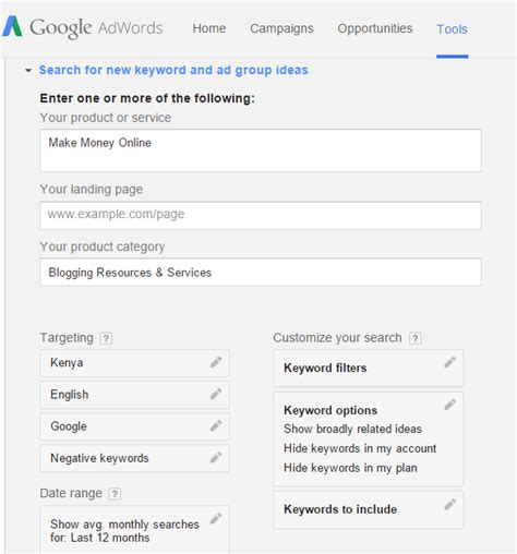 adsense keyword cost finding adsense keywords with highest cost per click