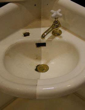 can you refinish a porcelain sink sink refinishing pedestal sink refinishing cast iron