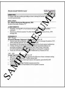 how to make a resume simple resumes