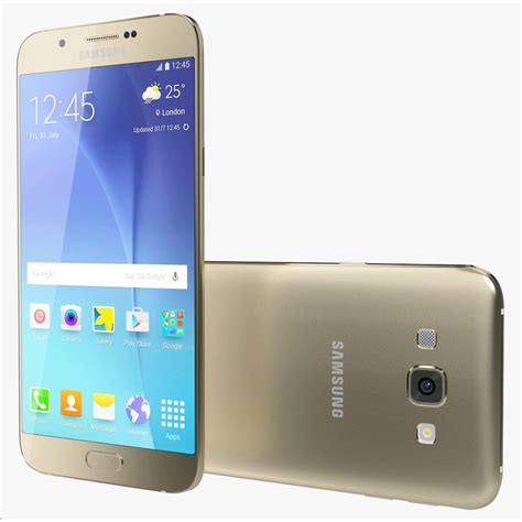 samsung galaxy a8 smartphone dual sim a800yz gold lte 32gb a800 gld expansys brazil