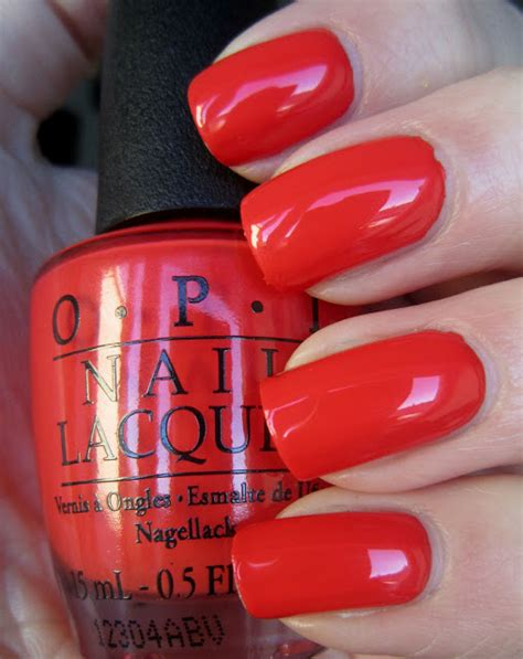 My Paprika Is Hotter Than Yours nailtastic opi my paprika is hotter than yours